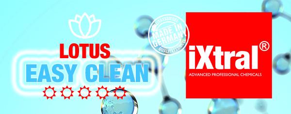 iXtral® EASY CLEAN Versiegelung spart Zeit und Geld mit schmutzabweisendem Abperleffekt an Glas Keramik Porzellan Fliesen in Küche und Bad